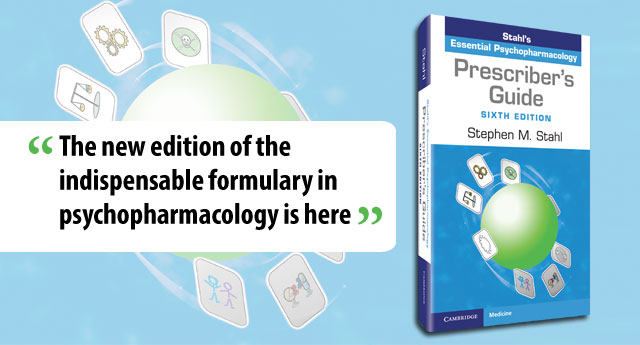 Prescriber's Guide: Stahl's Essential Psychopharmacology 6th Edition, website banner
