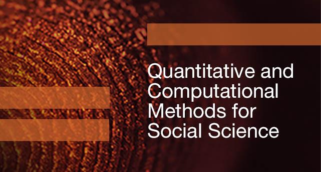 Cambridge Elements Quantitative and computational methods for social science