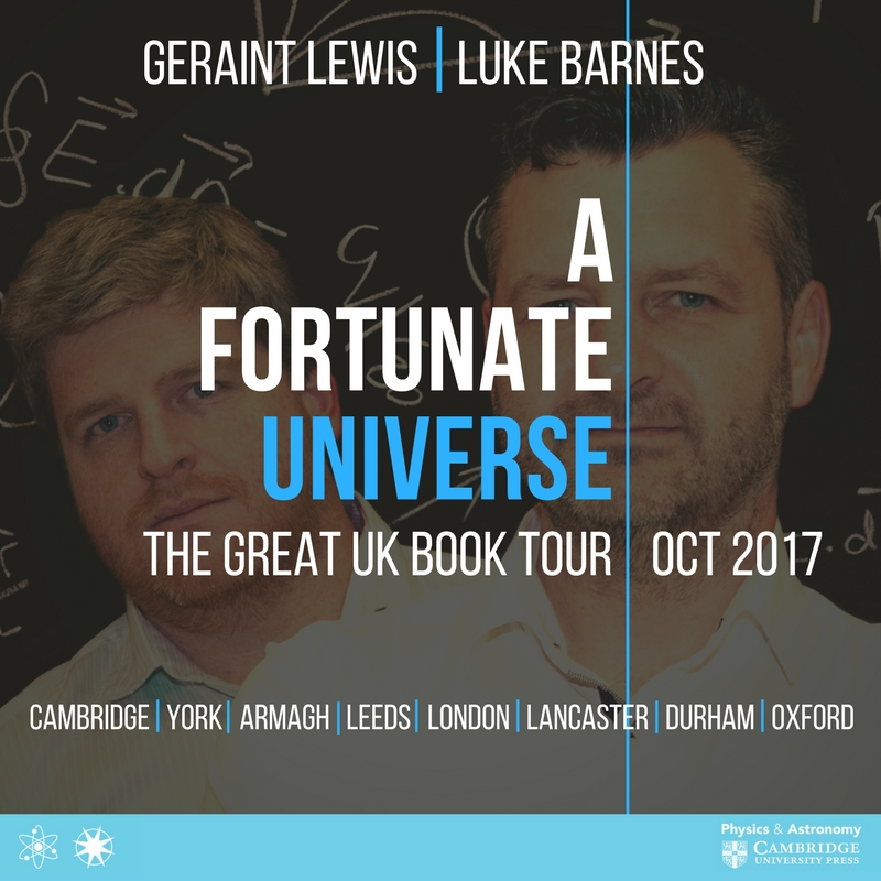 The Great UK Book Tour - A Fortunate Universe