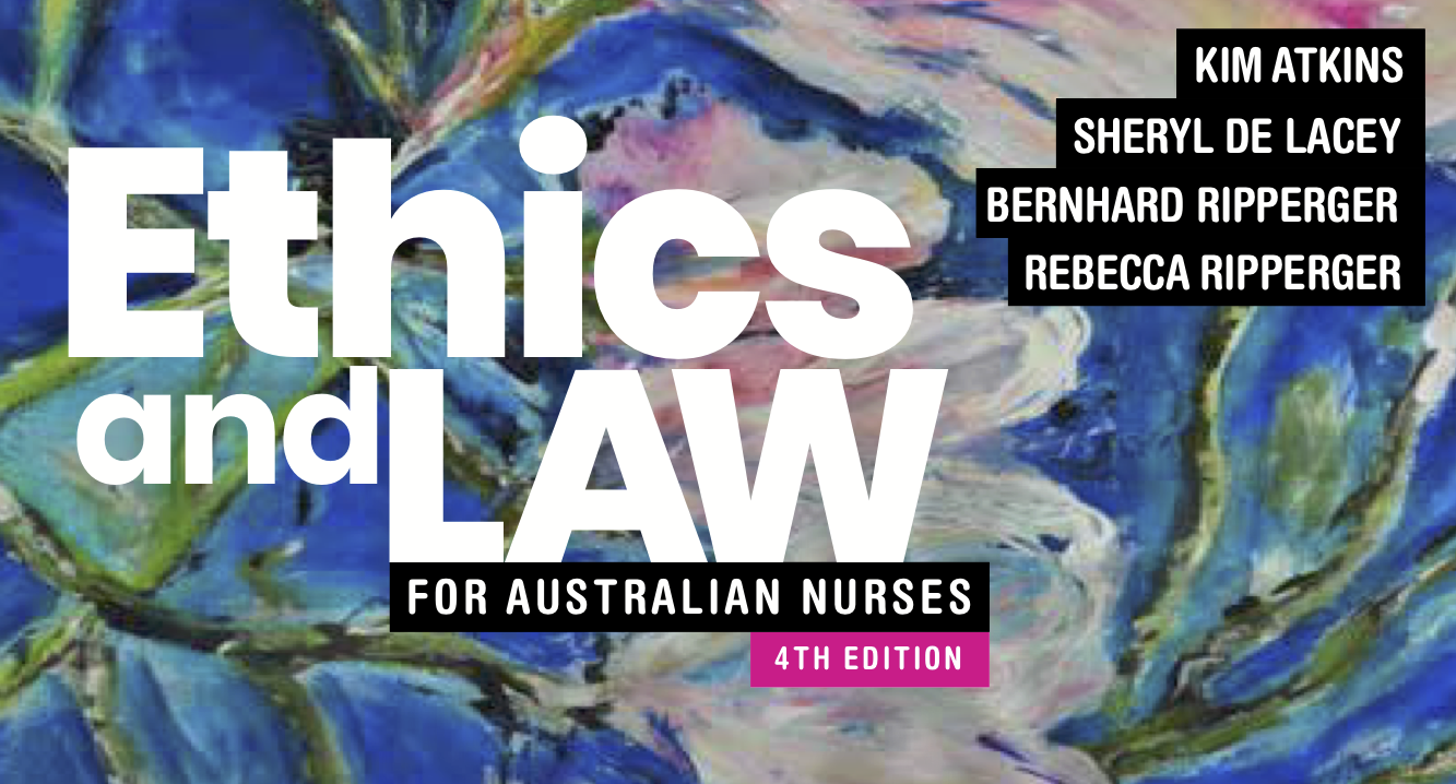 Ethics and Law for Australian Nurses Banner