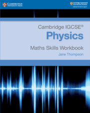 Physics Math Skills Workbook