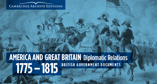 Image for America and Great Britain Diplomatic Relations