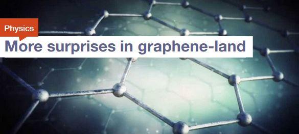 More Surprises in Graphene Land
