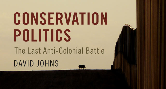 Johns, Conservation Politics banner