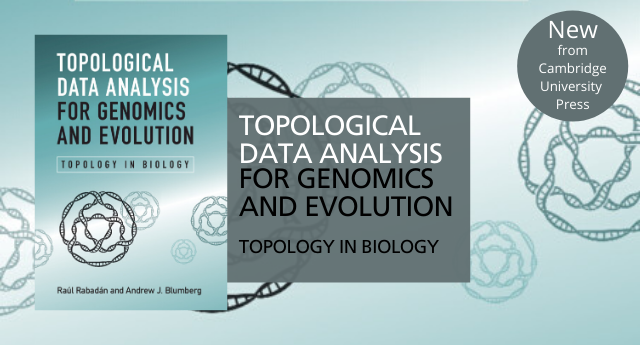 Topological Data Analysis for Genomics and Evolution