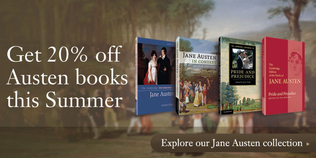 Get 20% off Jane Austen books this Summer