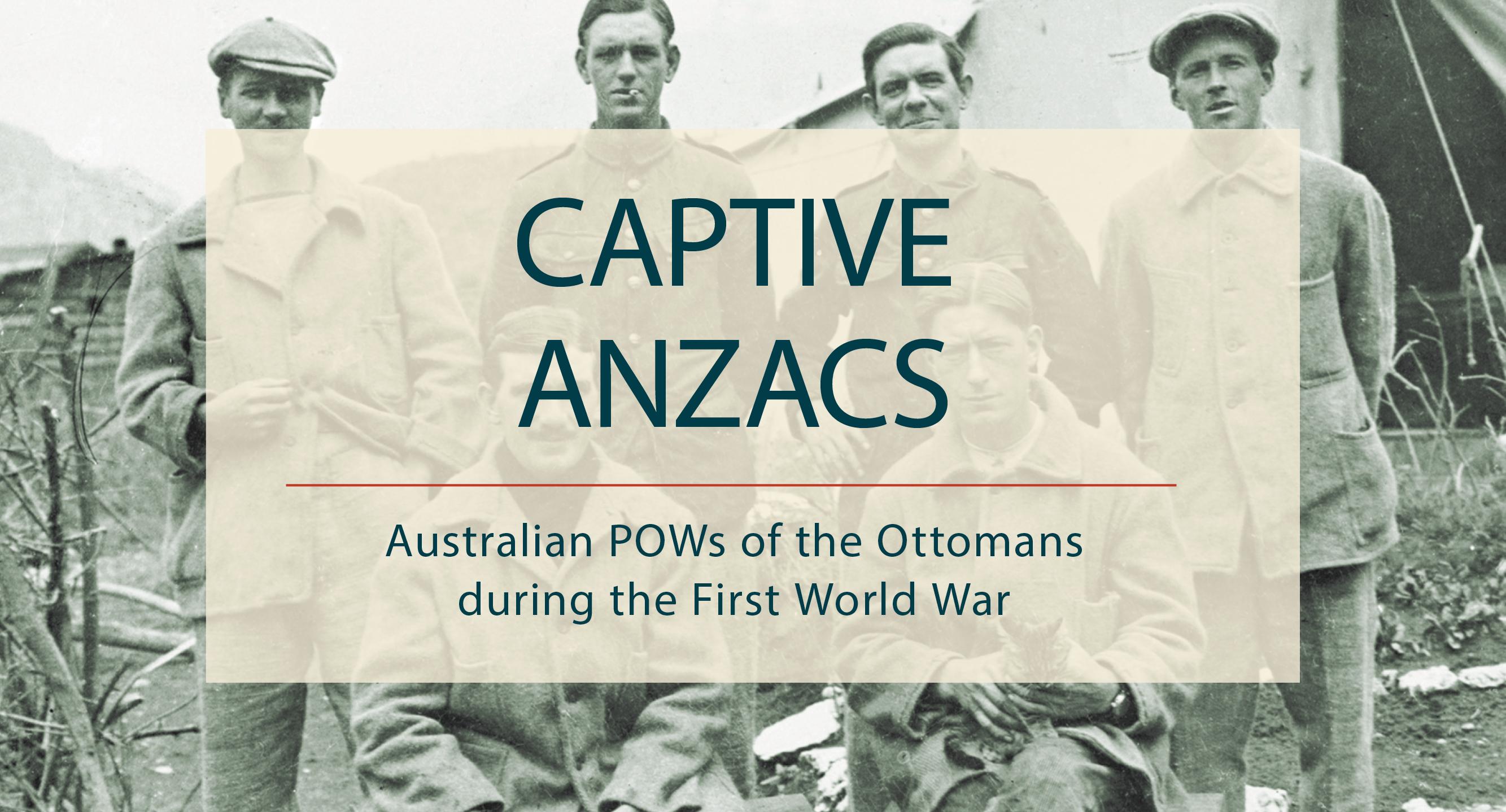 Captive Anzacs banner