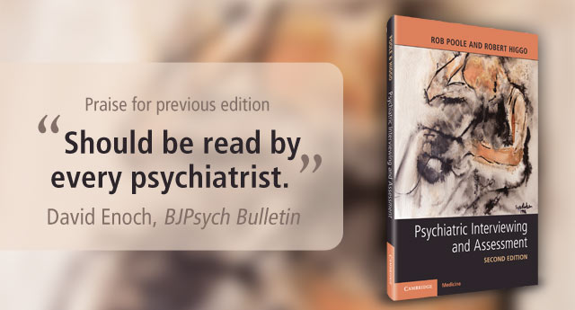 Psychiatric Interviewing and Assessment, Second Edition website banner
