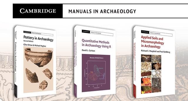 Cambridge Manuals in Archaeology series