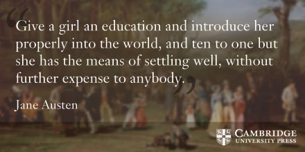Jane Austen quote on female education