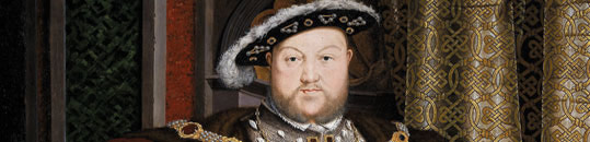 An image showing a portrait of King Henry VIII