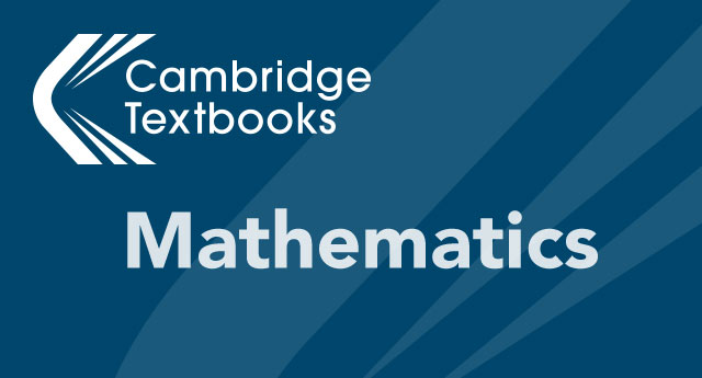 Cambridge Textbooks Mathematics