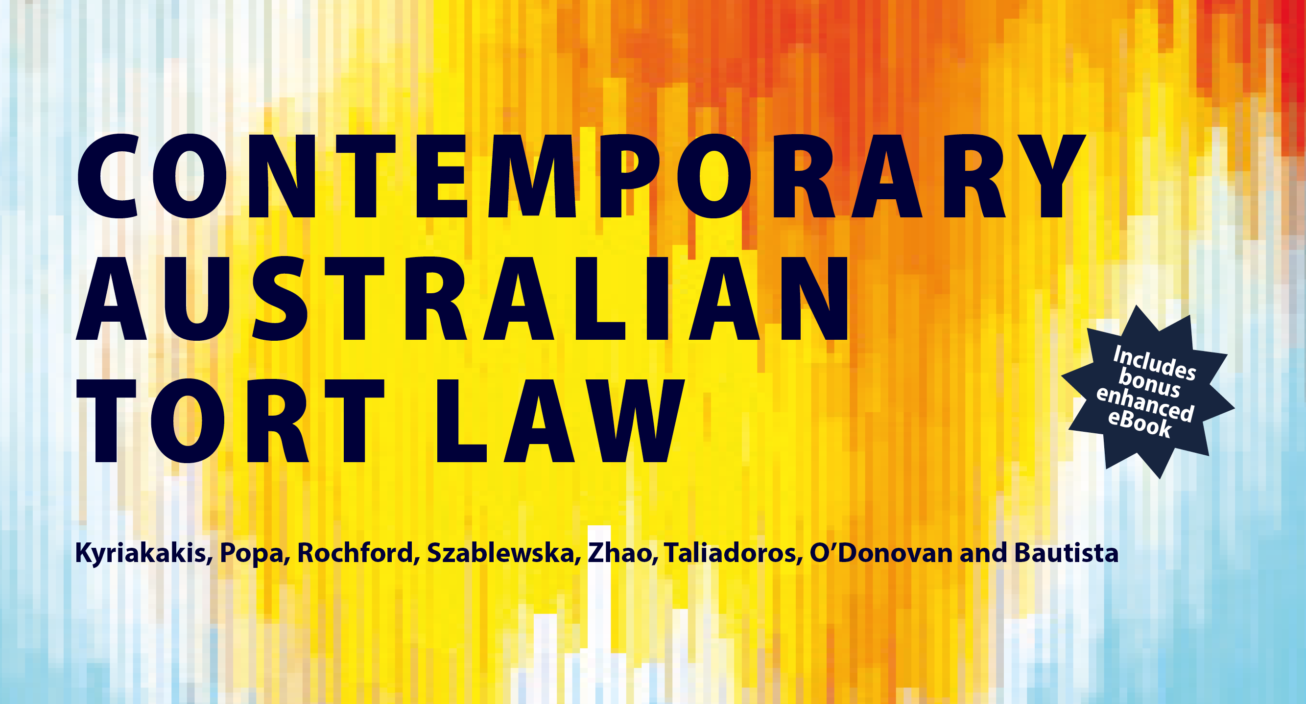 Contemporary Australian Tort Law Banner