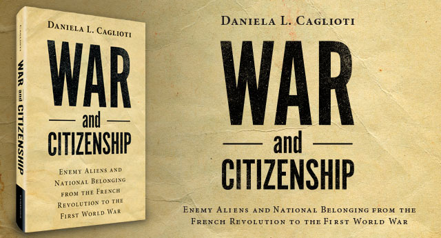cover of War and Citizenship