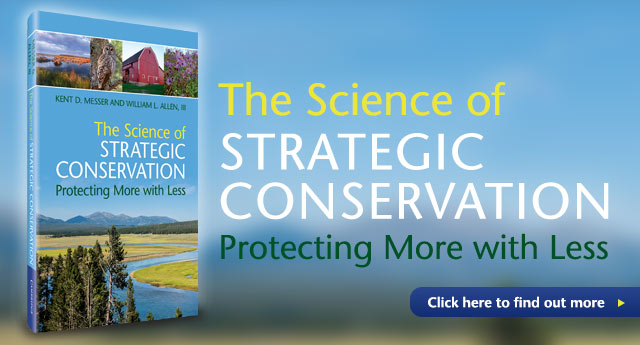 The Science of Strategic Conservation web banner