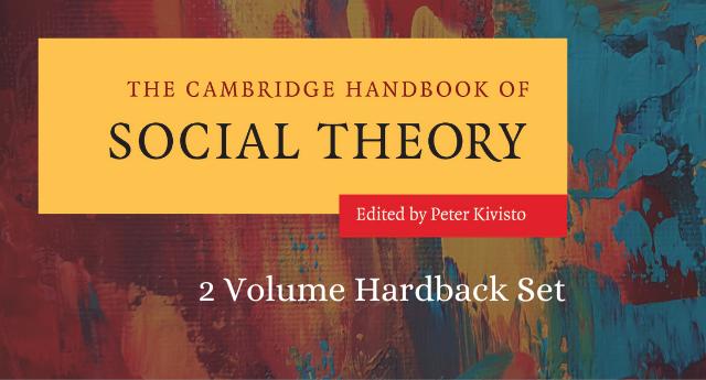 Cover for The Cambridge Handbook of Social Theory