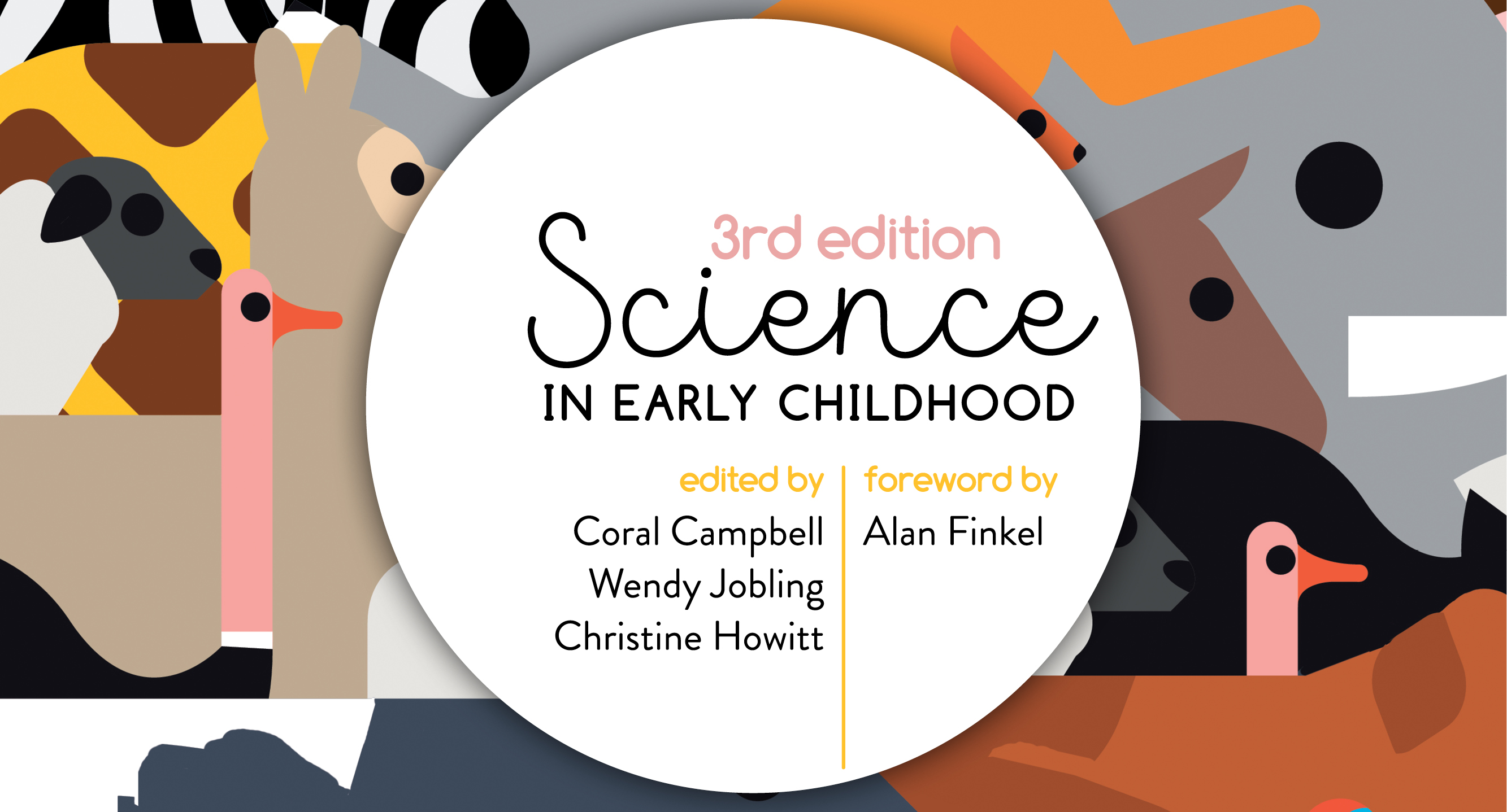 Science in early childhood web banner