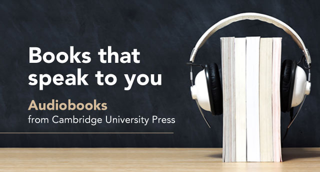 Audio books from Cambridge