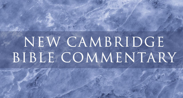 New Cambridge Bible Commentary