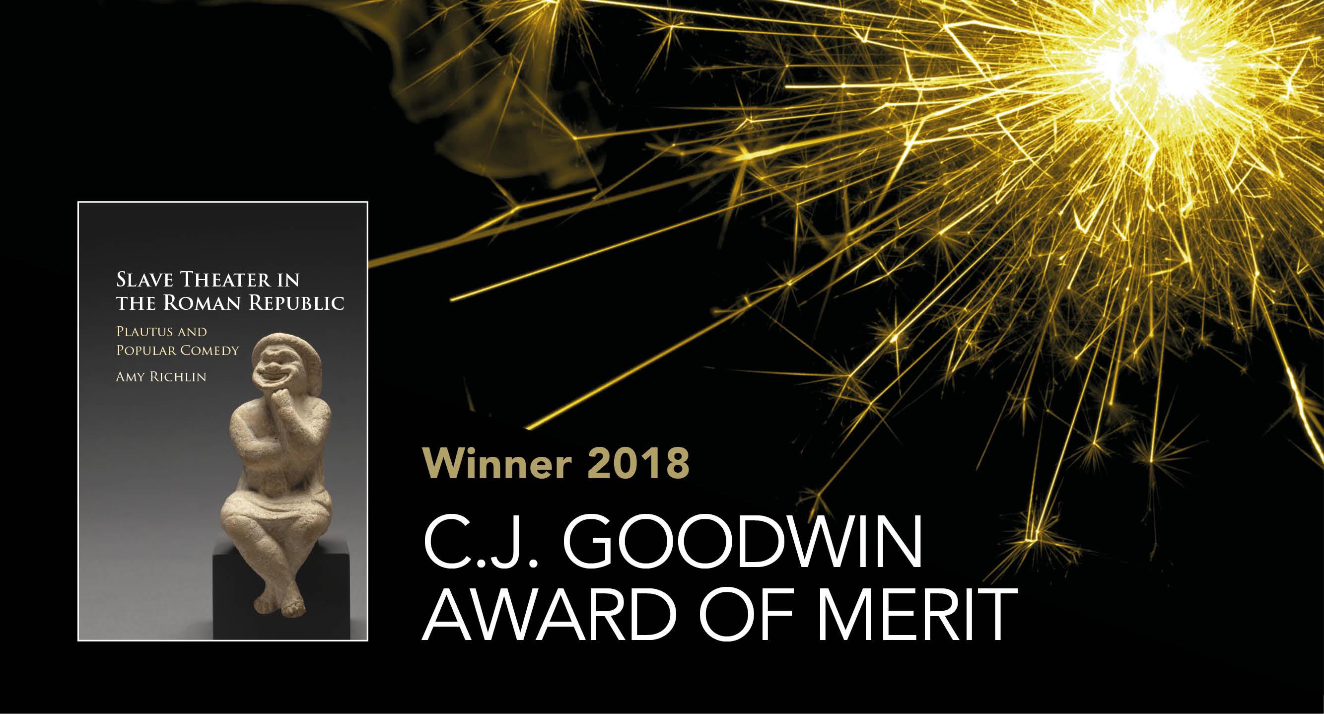 C.J. Goodwin Award