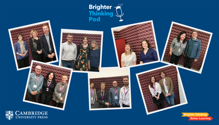 Brighter Thinking Pod guests