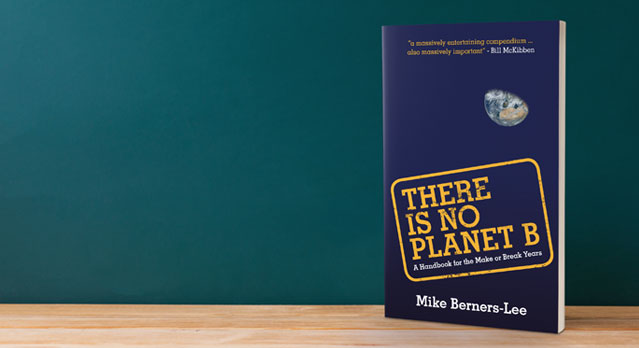 There is No Planet B Book jacket