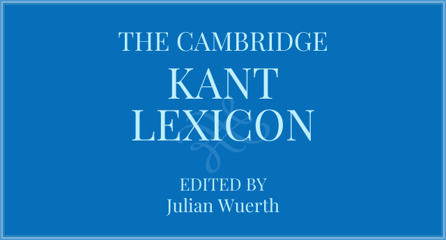 Cover of The Cambridge Kant Lexicon