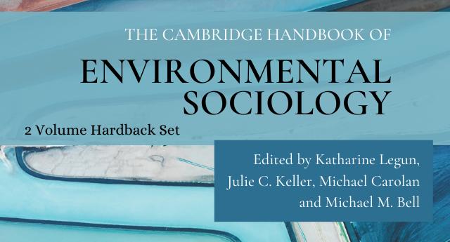 Cover of The Cambridge Handbook of Environmental Sociology