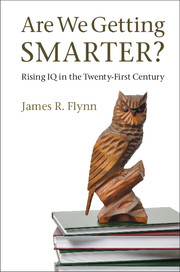 Are we getting Smarter? Book Cover