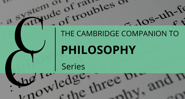 Cover of Cambridge Companion to Philosophy series