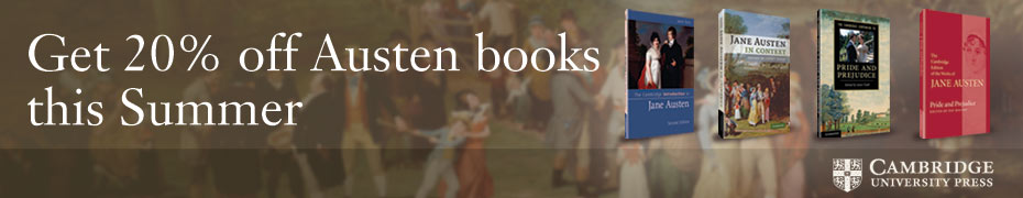 20% off Austen books this Summer