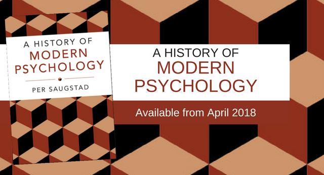 A Modern History of Psychology