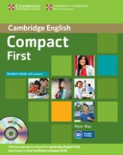 Compact First by Peter May