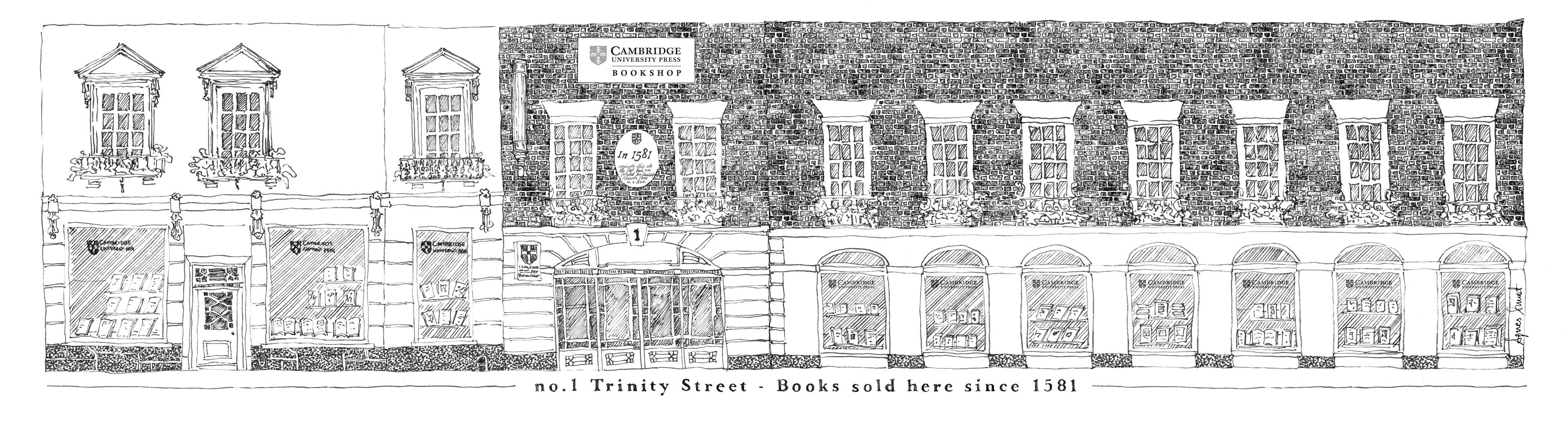 bookshop drawing
