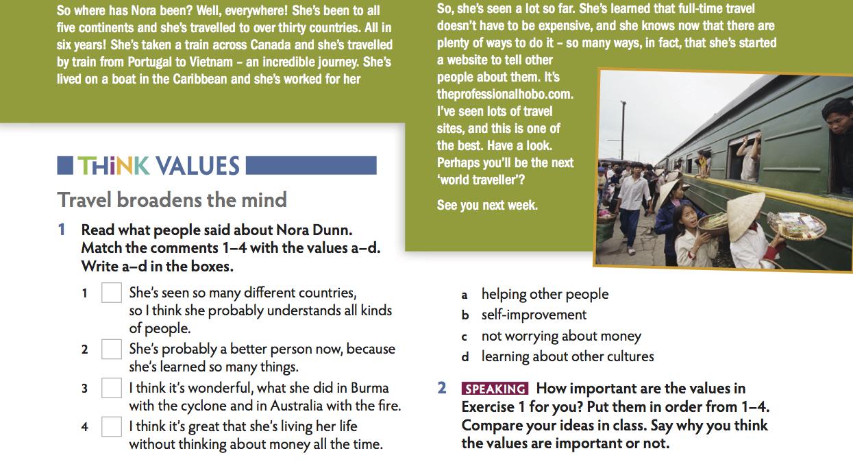 Workbooks self esteem workbook : American Think | Secondary | Cambridge University Press