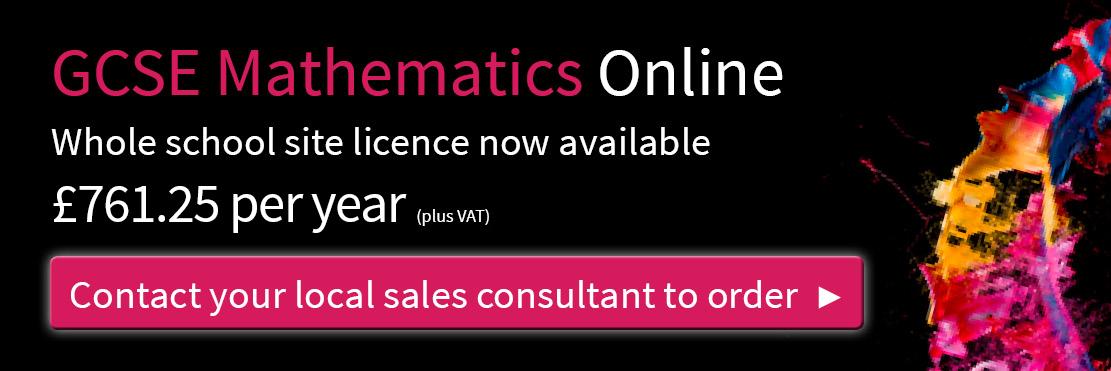 GCSE Mathematics Online - Cambridge University Press