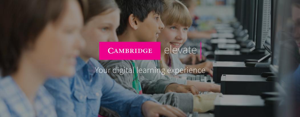 Cambridge Elevate Cambridge University Press
