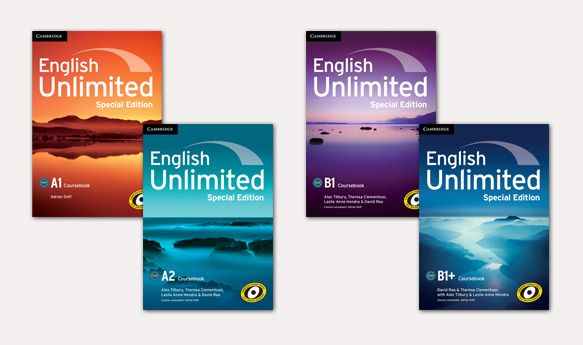 English Unlimited Special Edition book covers