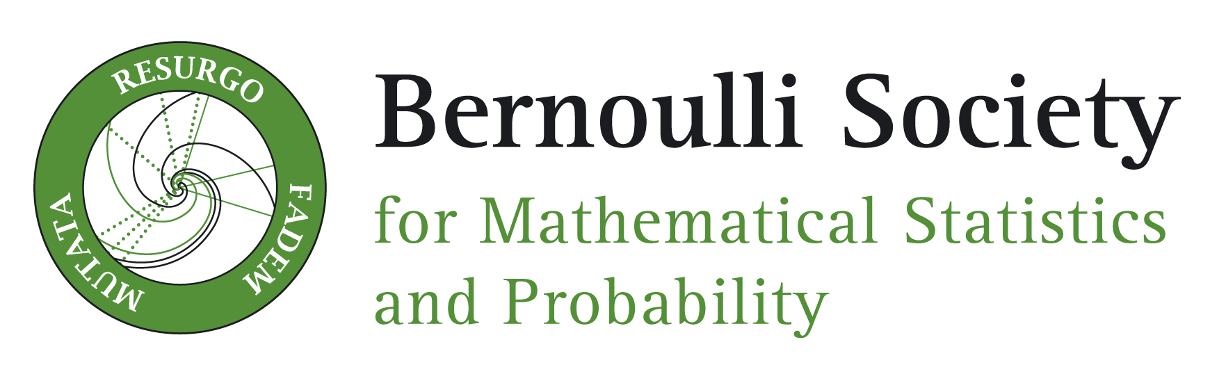 Logo of the Bernoulli Society
