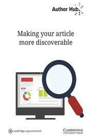 Making your article more discoverable