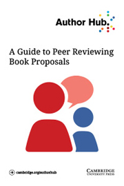 A guide to peer reviewing book proposals