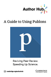 A guide to using Publons