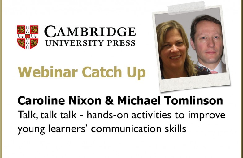 Webinar with Kid's Box authors - C Nixon and M Tomlinson