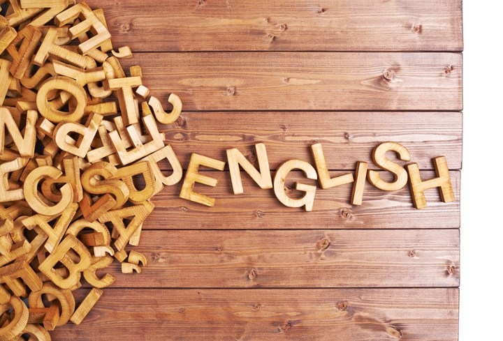 First Language English and English as a Second Language