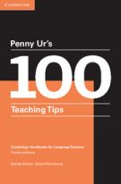 'cover of Penny Ur's 100 teaching tips'