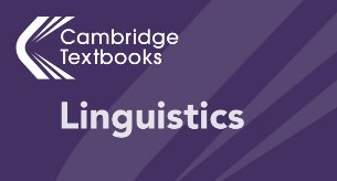 Cambridge Linguistics Textbooks