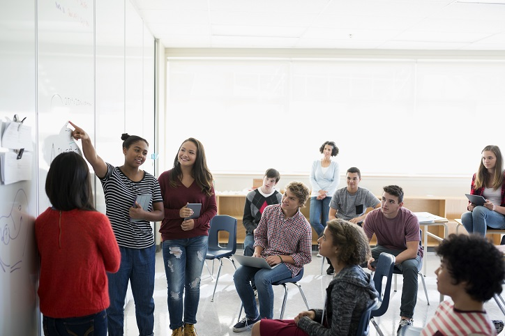 What is active learning and what are the benefits?