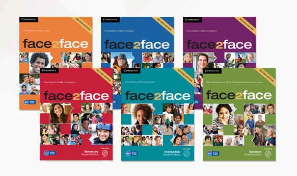 to face elementary book face english