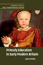 Princely Education in Early Modern Britain