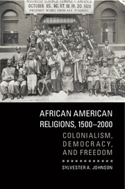 African American Religions, 1500–2000